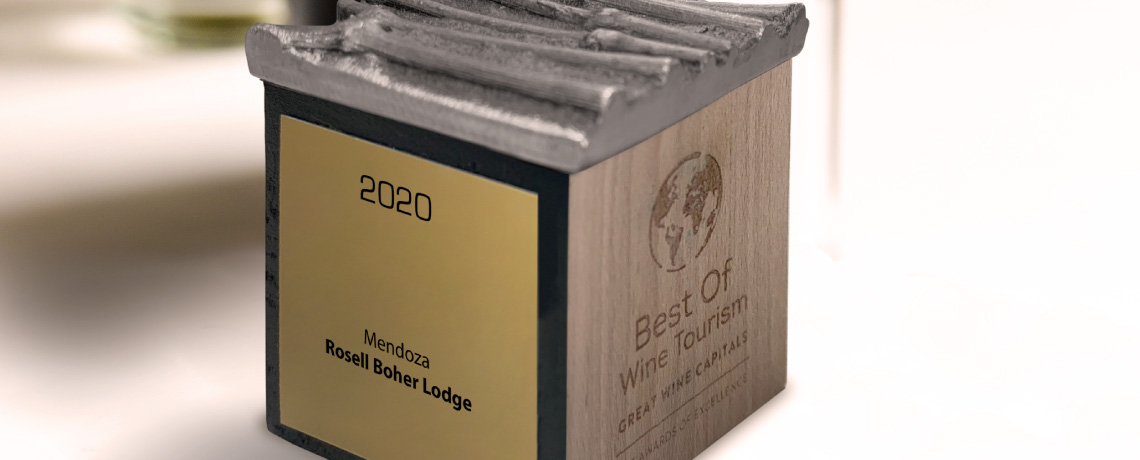 ORO al mejor restaurante de bodega del Mundo 2020